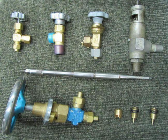 Cilindri și valve: specii