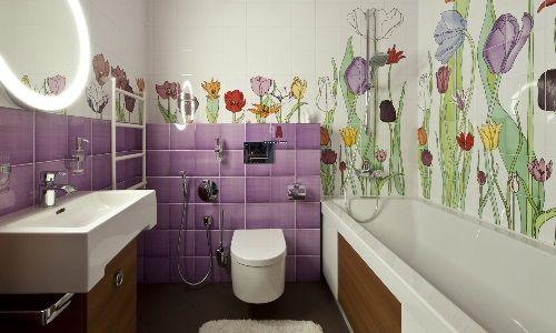 Дизайн для компактных ванных комнат и туалетов