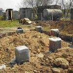 Garaj pentru fundație dig sau bandă