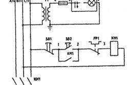 Схема электрическая точильного шлифовального станка