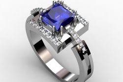 Почему популярны обручальные кольца с алмазами?