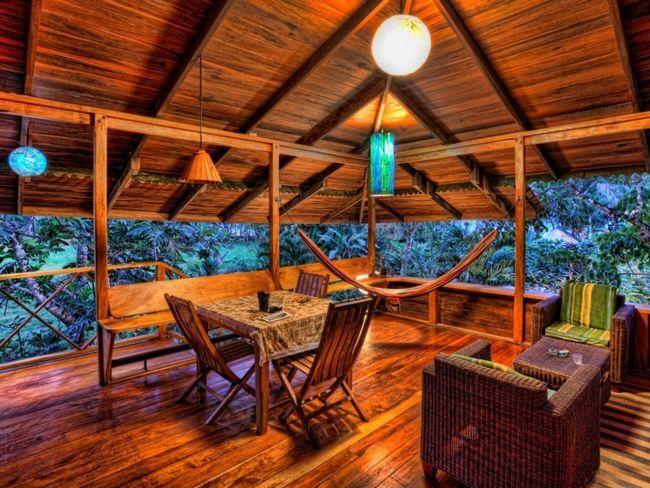Как красиво оформить уютную веранду