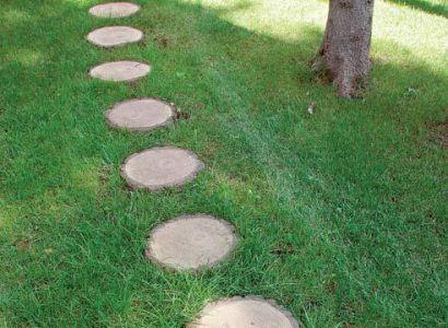 Как оформить дорожки в саду быстро и красиво?