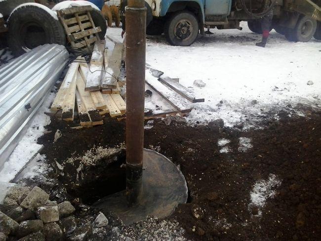 Cum se face foraj de sol înghețat
