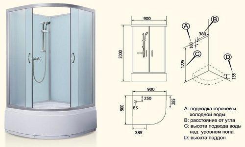 Cum se instalează duș cu aburi?