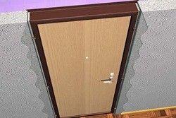 как правильно собрать и установить дверную коробку без порога