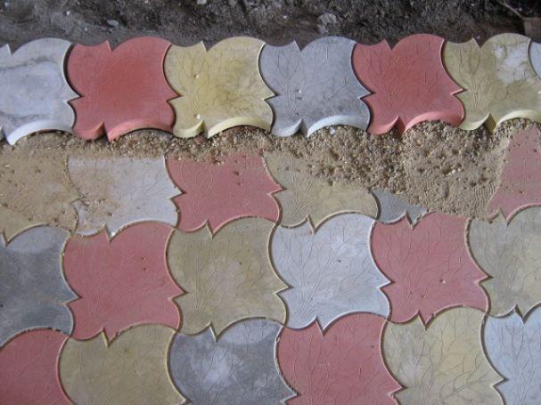 Как правильно заделать швы после укладки тротуарной плитки