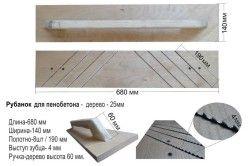Structura de indreptare pentru blocuri de beton