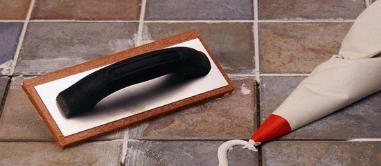 Как затирать плиточные швы