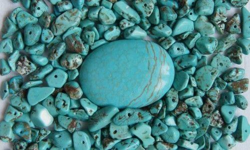 Камень прессованная бирюза и ее отличительные свойства