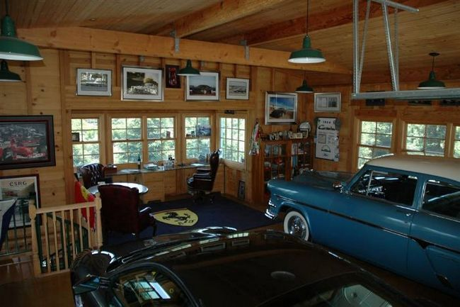 Garaj frumos și confortabil