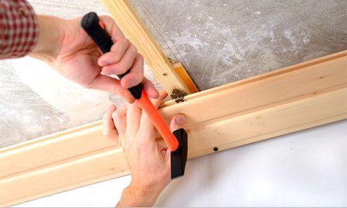 Fixarea căptușirea pereților și tavan