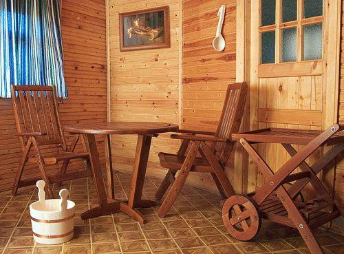 Mobilier pentru baie și saună - recomandări privind producția de confort