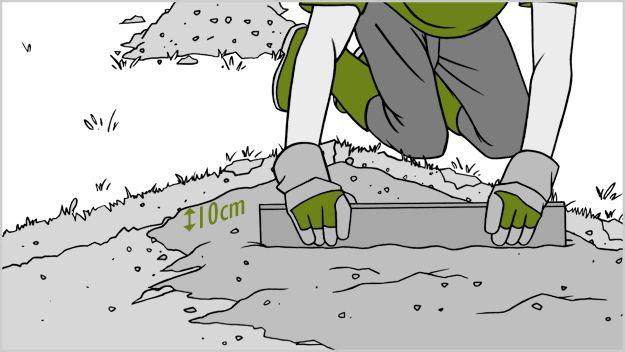 Мощение тротуарной плиткой собственными руками
