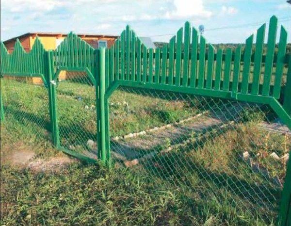 Garduri neobișnuite cu propriile sale mâini