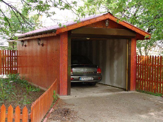 Intrare la echipamentul de garaj