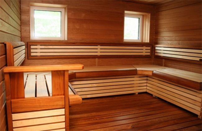 Tratamentul de rafturi de lemn în baie