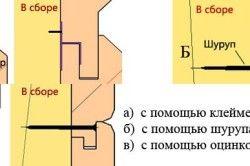 Metode de montare pe căptușeala peretelui