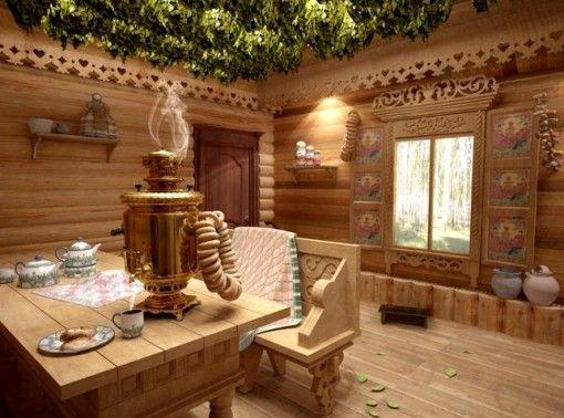 proiecta o sală de așteptare în stil rusesc