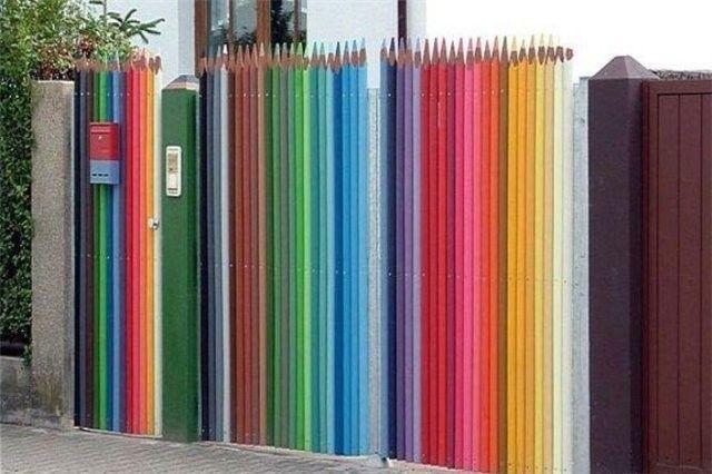 Design-ul original al porți și poarta