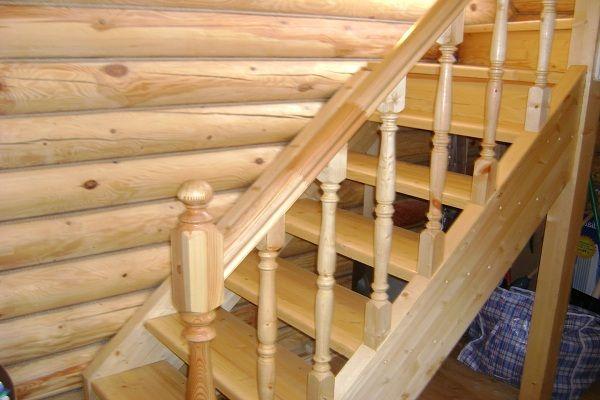 Основные конструктивные элементы лестниц