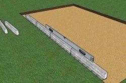 Для начала необходимо подготовить ложе под укладку плитки. Самым главным моментом является равномерная поверхность.