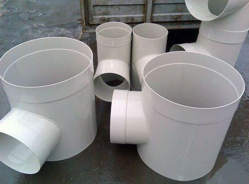 Conducte din plastic: forma și caracteristicile