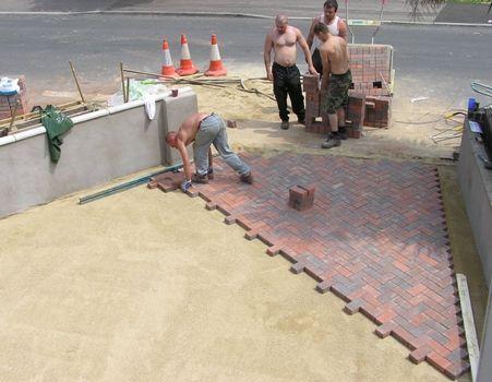 Подготовка основания для тротуарного покрытия