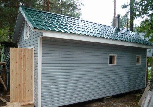 Phased finisaj siding casa din lemn sau o baie