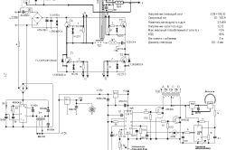 Diagrame și desene improvizate invertoare de sudura
