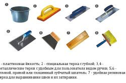 Instrumente pentru finisare cameră baie țiglă
