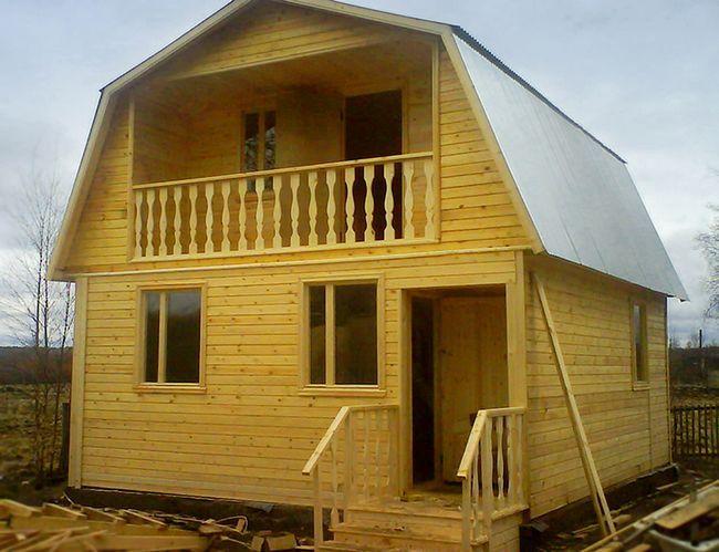 Технология возведения дачного дома