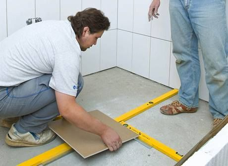 De stabilire gresie pe podea