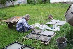 Самодельные формы для изготовления плитки