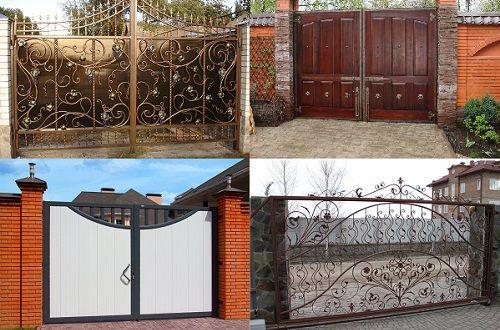 Opțiuni pentru poarta unei case private
